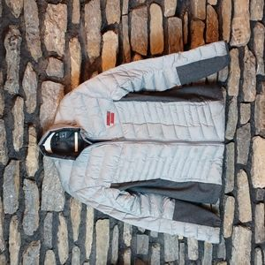 Adidas Louisville soccer puffer winter jacket sz large
